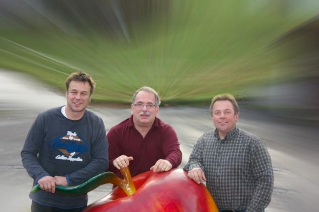 Das Team der Fruture GmbH: Beat Lehner, Markus Kobelt, Thomas Hungerbühler